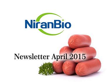 Newsletter April 2015
